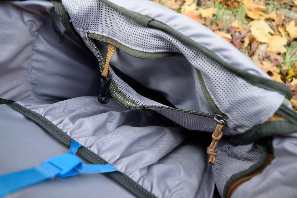 rei rucksack inner zipper