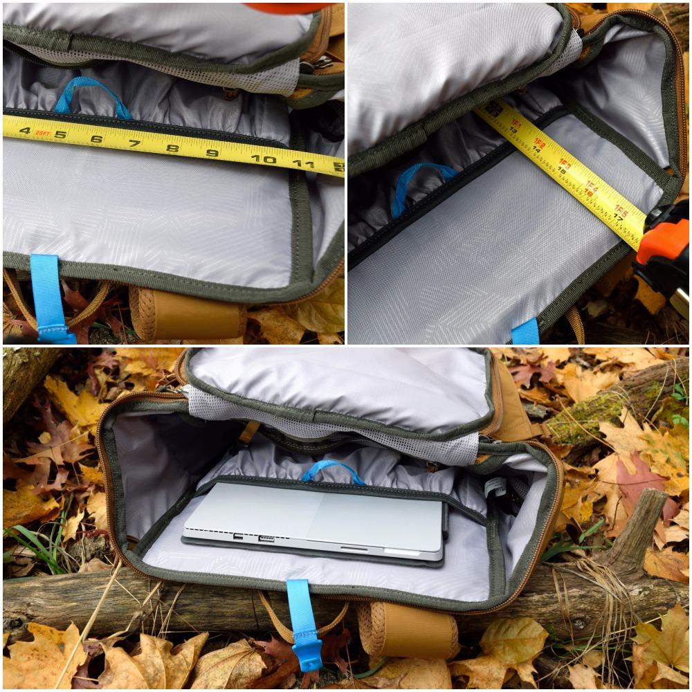 rei rucksack laptop collage