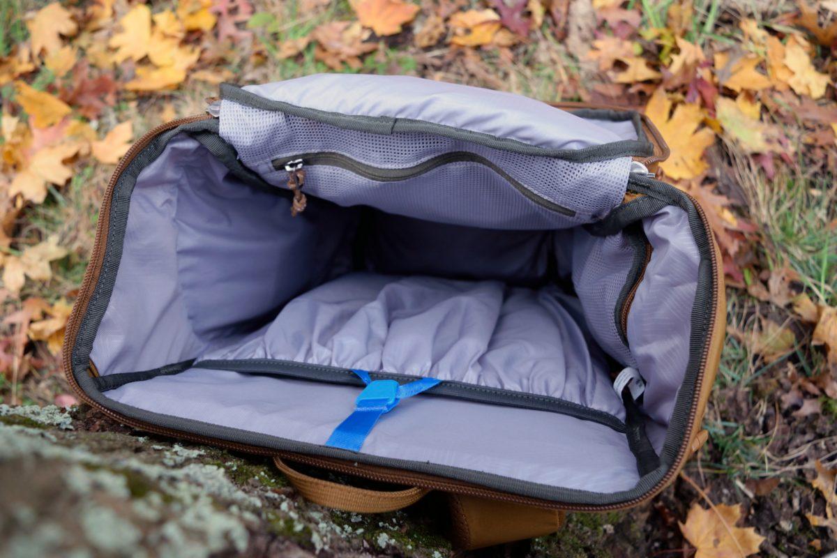 rei rucksack main compartment