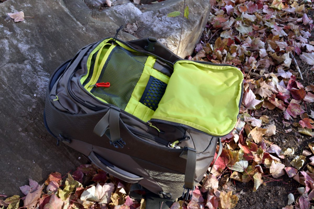 osprey porter 30 review front compartment