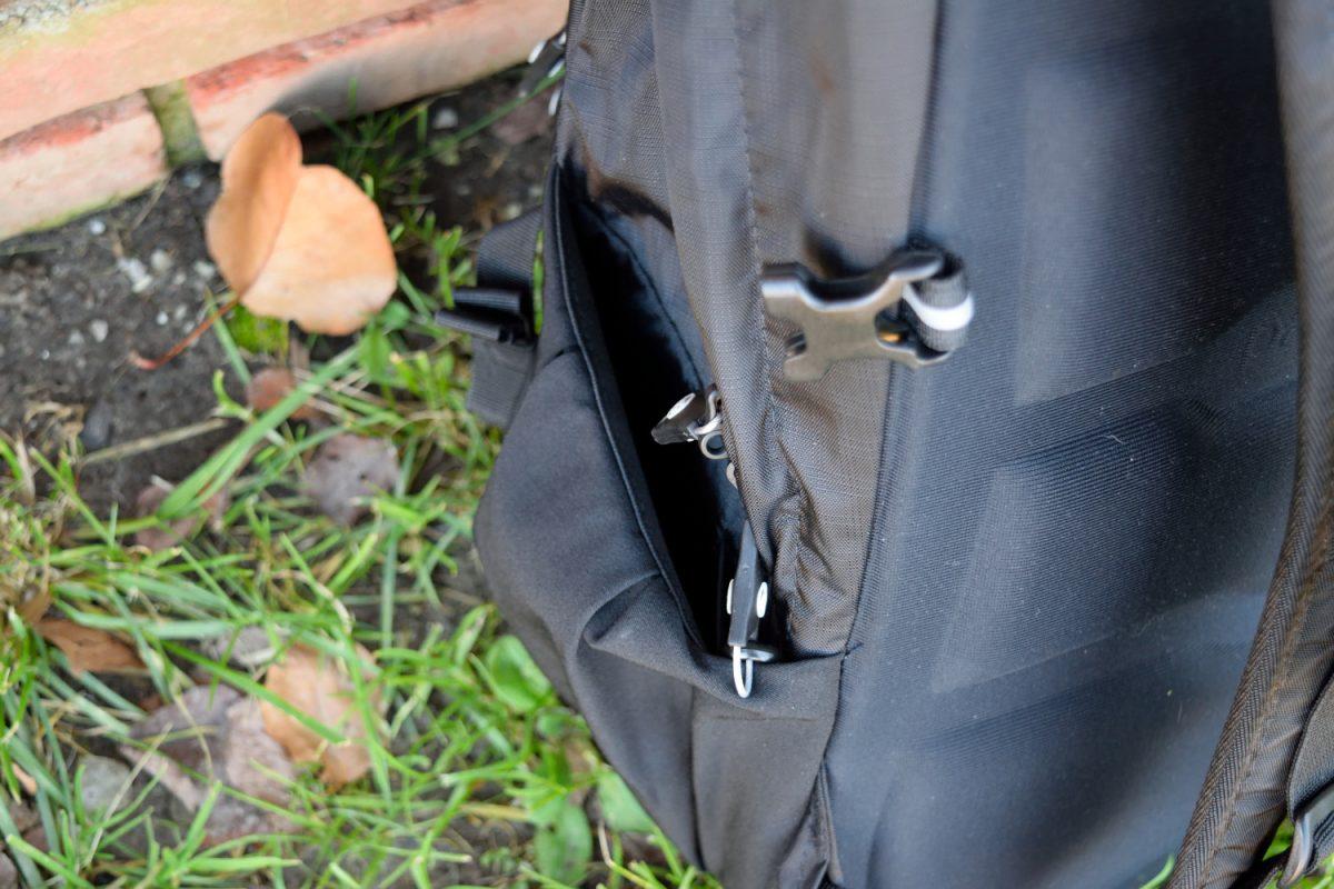 pacsafe venturesafe 25l side pouch