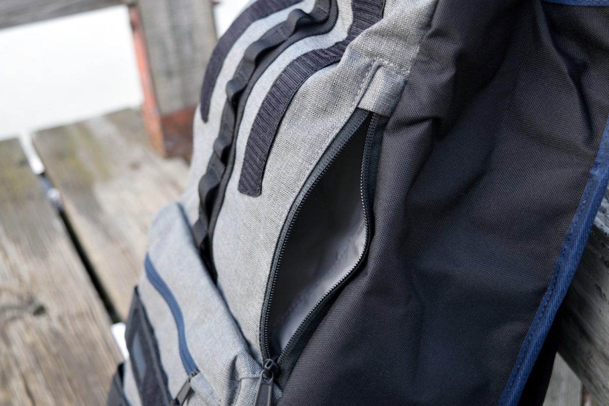 timbuk2 spire side pocket