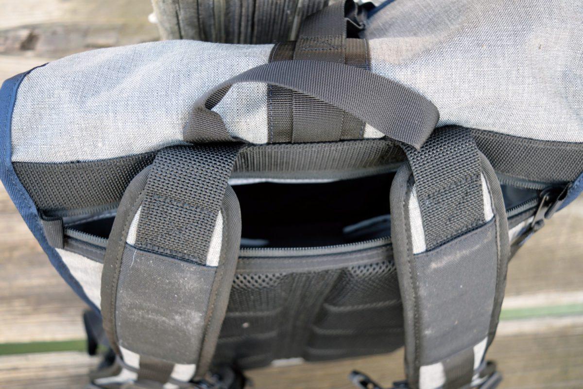 timbuk2 spire zipper access