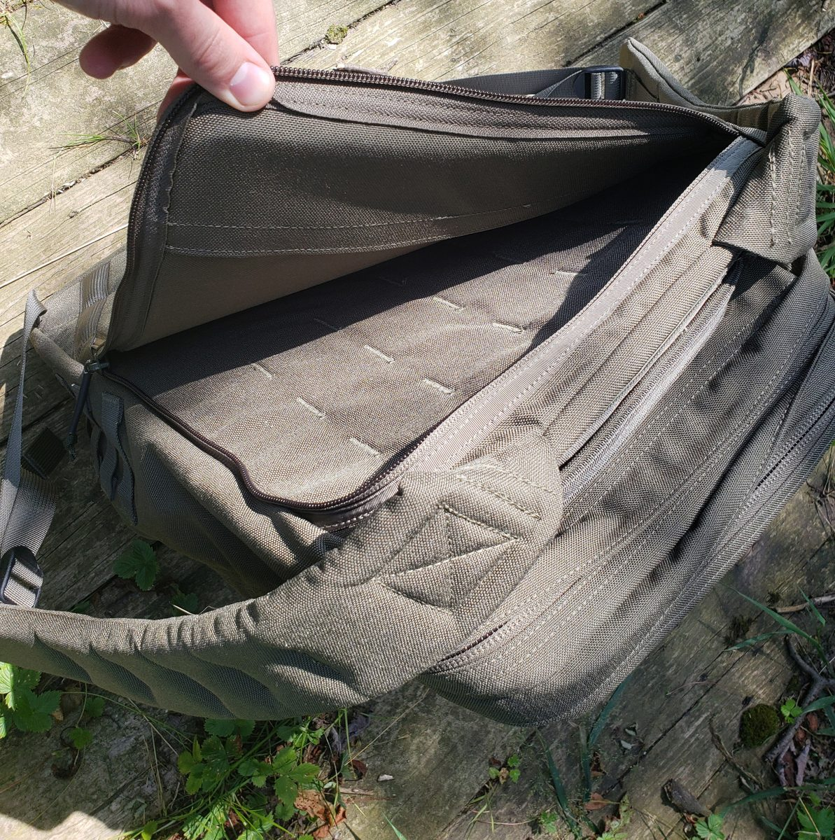 goruck gr2 laptop