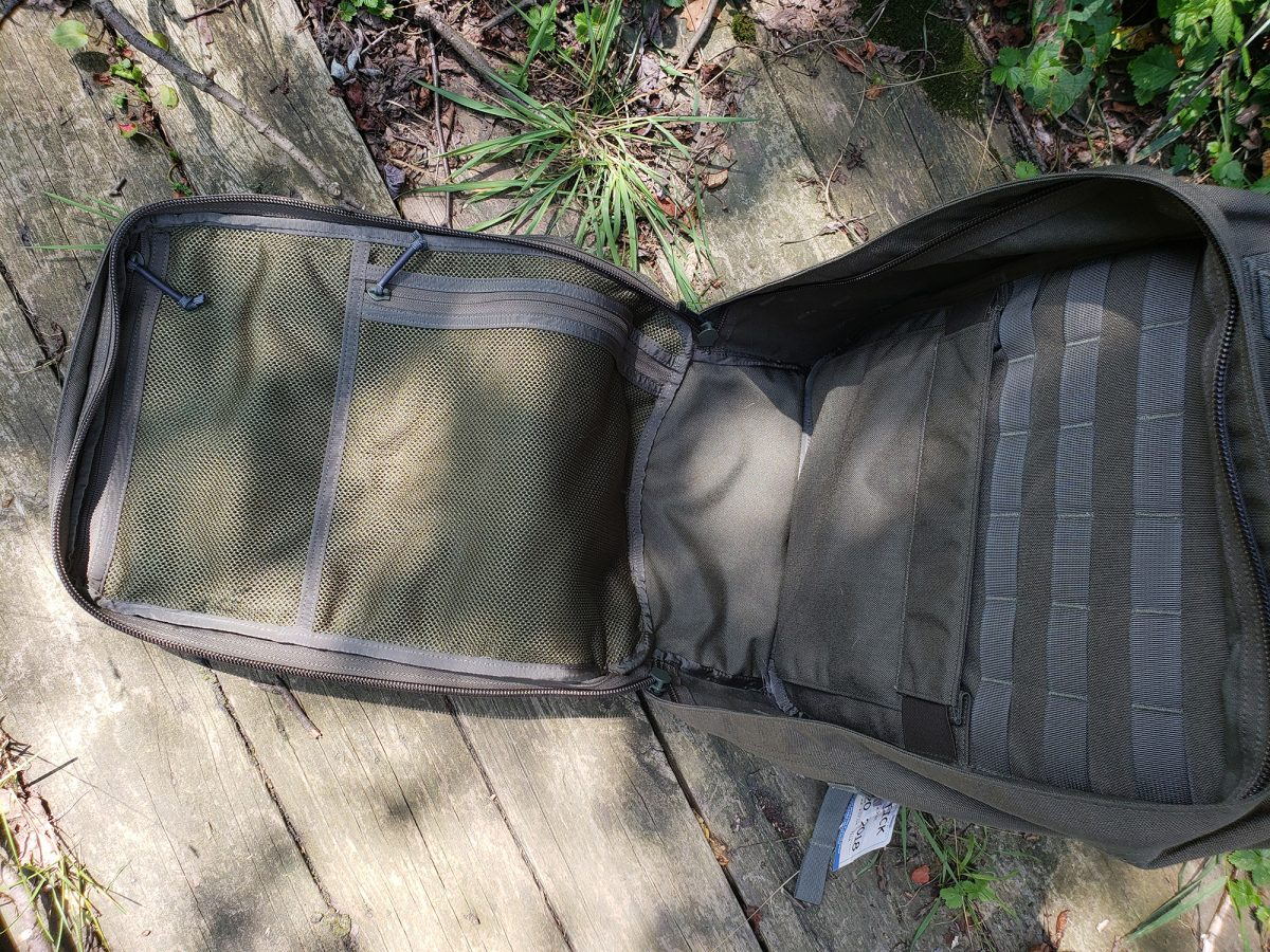 goruck gr2 main compartment review
