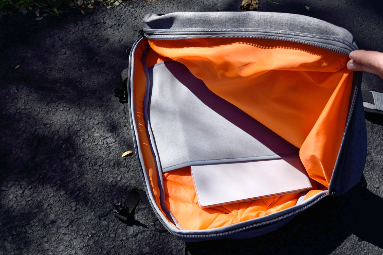 amazon slim travel backpack laptop