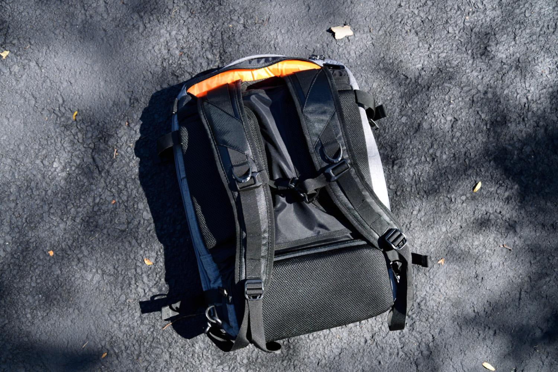 ab slim travel backpack straps